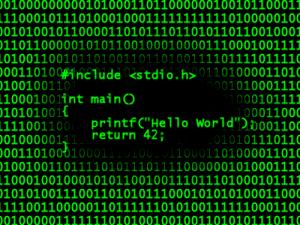"""Código em C++ para escrever na tela """"Hello Word"""""""